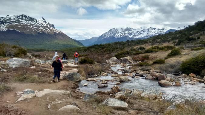 Galottaflorencia en Hamelin: Paisaje  (Ushuaia), En Ushuaia. Pasando la castorera abandonada, atravesando la turbera, doblando hacía la derecha, la laguna ...