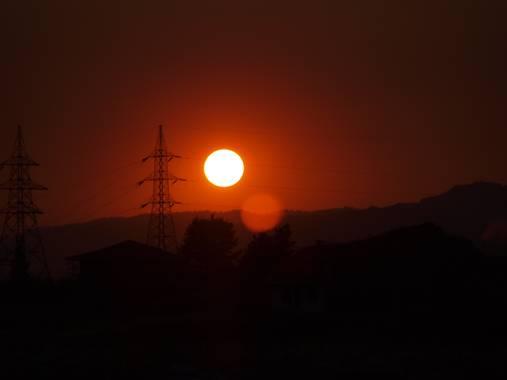 Jongv93 en Hamelin: Paisaje  (Pınarbaşı), #sun #sunset