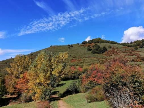 mariale en Hamelin: Paisaje, 📸 @marialendza #marialemdza #Naturaleza #Montaña #BellezaNatural #otoño2020 #ProvinciaDeLeón #octubre2020  #autumn2020  #Blu...