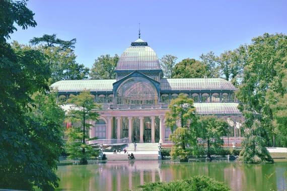 Naia Niwoktomora en Hamelin: Paisaje  (Madrid), #paisajesyjardines #elretiro #palaciodecristal