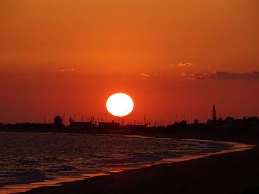 Maribel en Hamelin: Paisaje  (Moguer), 🌅   Atardecer en el día internacional del sol