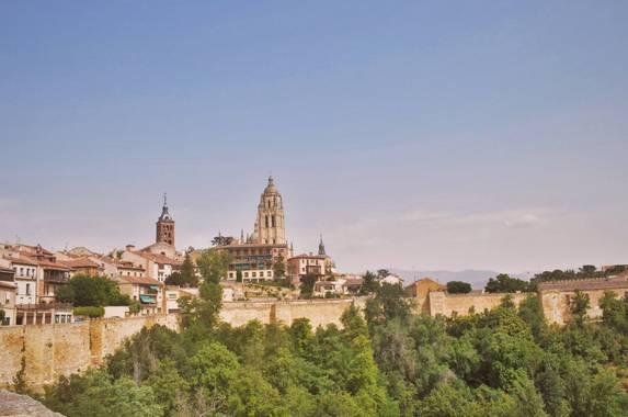 Naia Niwoktomora en Hamelin: Paisaje  (Segovia), #paisajesyjardines