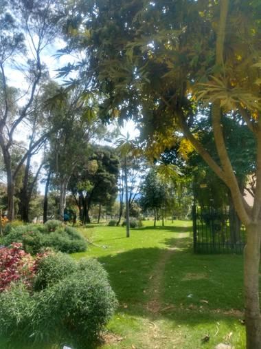 Zaynab en Hamelin: Paisaje  (Bogotá, D.C.), Parque