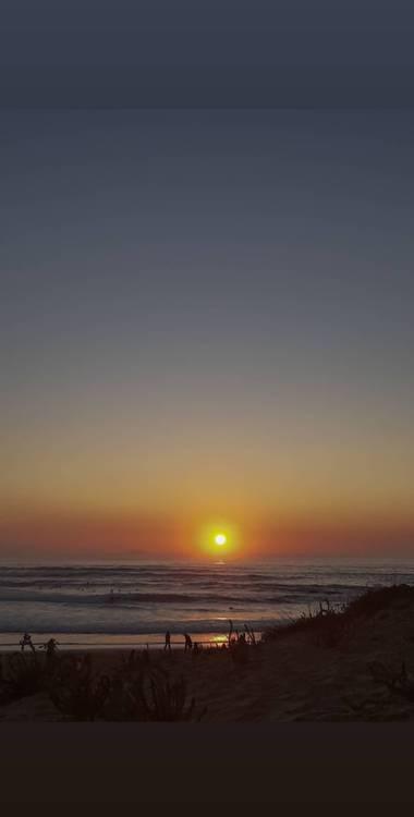 Dailyrame_b en Hamelin: Paisaje, #atardecer #playa
