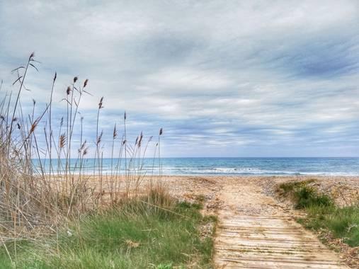 Helenbell33 en Hamelin: Paisaje  (Cabanes), #paisajes #torrelasal #cabanes #castellon #mediterráneo #playa #comunitatvalenciana