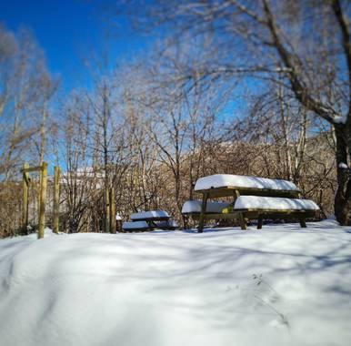 Marijohz en Hamelin: Paisaje  (Ezcaray), Un alto en el camino #invierno20
