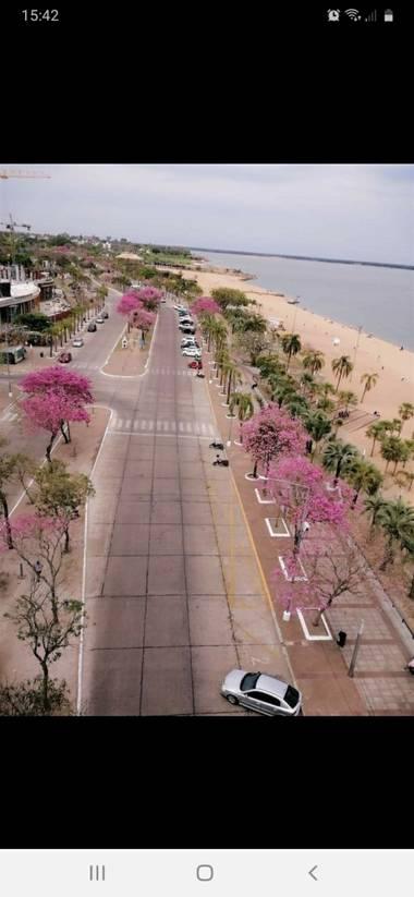 cristianelyanky13 en Hamelin: Paisaje  (Barrio Fray José de la Quintana), Costanera sur y la playa arazaty.en la capital correntina.