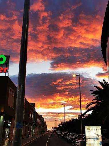 Roqenublo27 en Hamelin: Paisaje  (España), Maspalomas#cielocolor