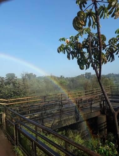 adrianpalacio166 en Hamelin: Paisaje, arco iris .cataratas iguazu