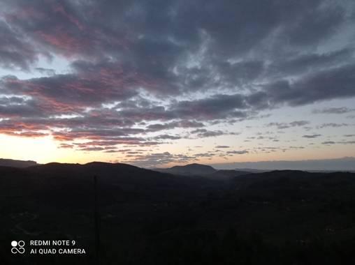 8ameri en Hamelin: Paisaje  (Solórzano), Cielo