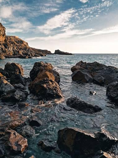 Mvchc0915 en Hamelin: Paisaje  (Guía de Isora), #beachlife #tenerife #spain #landscape #view #southside #wave #surf #nikon_photographer #nikon #beached #ca...