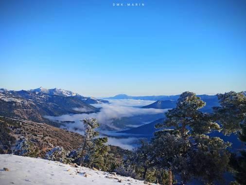 Daniel87marin en Hamelin: Paisaje  (Peal de Becerro), Valle del Guadalquivir, Sierra de Cazorla  Cumbres del Yelmo   #invierno20 #paisaje20 #cazorla #natur...