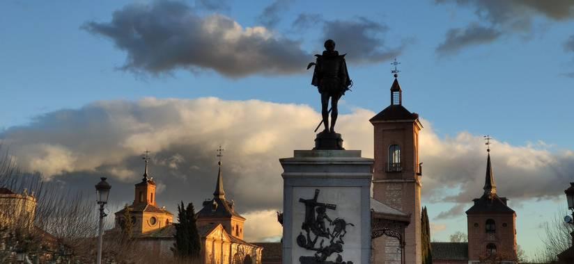 Lesanz en Hamelin: Paisaje  (Alcalá de Henares), Una tarde tranquila #nubes #centrohistorico
