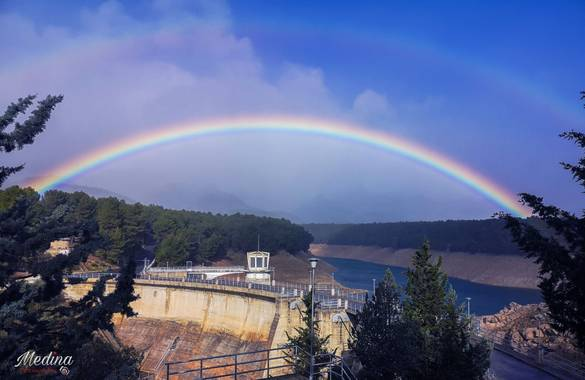 Vanessa_sm en Hamelin: Paisaje  (Pozo Alcón), #arcoiris #paisajes