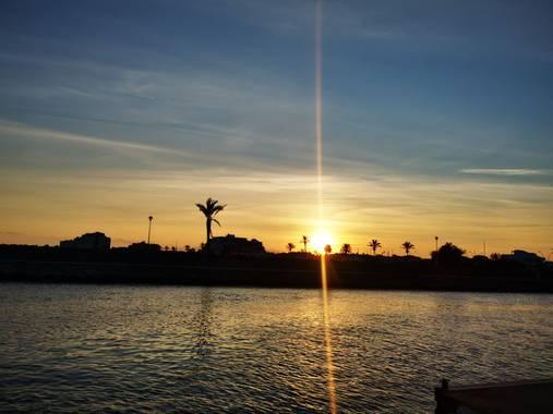 irenels9133 en Hamelin: Paisaje  (Empuriabrava), #atardecer #sol
