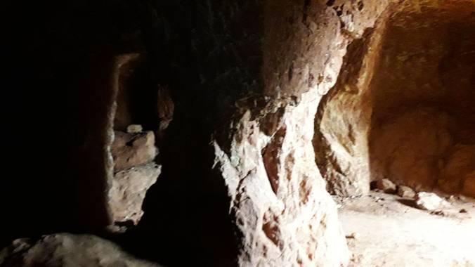 Solerantonio2 en Hamelin: Paisaje  (Almería), Minas de talco en el barranco tartala