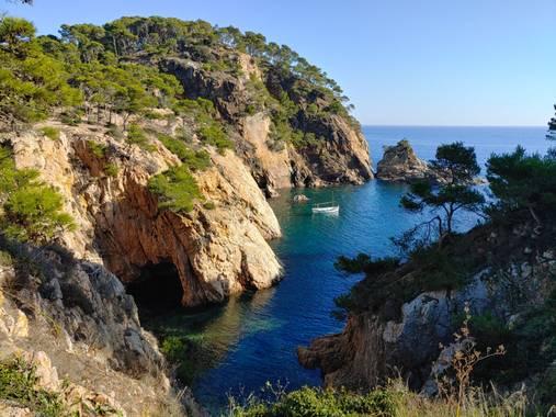 Raquel Galo en Hamelin: Paisaje, Camino de Ronda; 2020     #paisaje #naturaleza #natura #catalunya_natura #emporda #mar #girona