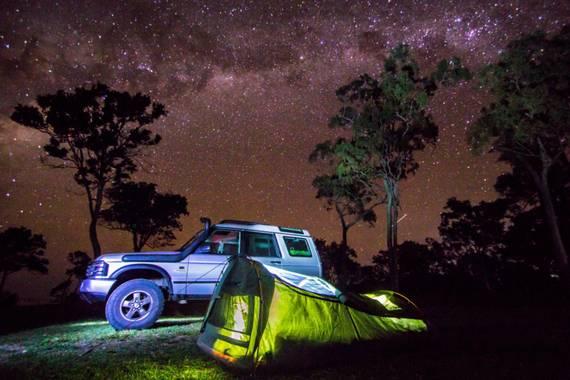 Guille Lopez en Hamelin: Paisaje  (Clairview), De camping bajo de las estrellas  #fotonocturna21
