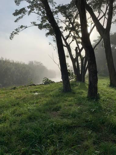 #adrimoreno en Hamelin: Paisaje  (Cartago), Frío amanecer#invierno20
