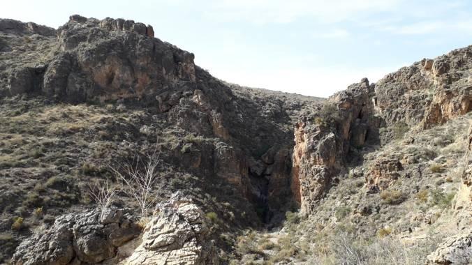 Solerantonio2 en Hamelin: Paisaje  (Almería), Garganta de una rambla a la altura de la rambla amatisteros