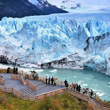 cristianelyanky13 en Hamelin: Paisaje  (El Calafate), El glaciar perito moreno(el calafate)