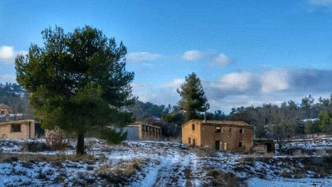 ivanalepuz en Hamelin: Paisaje  (Onil), #invierno20#paisaje#naturaleza#nieve#onil#alicante#sony