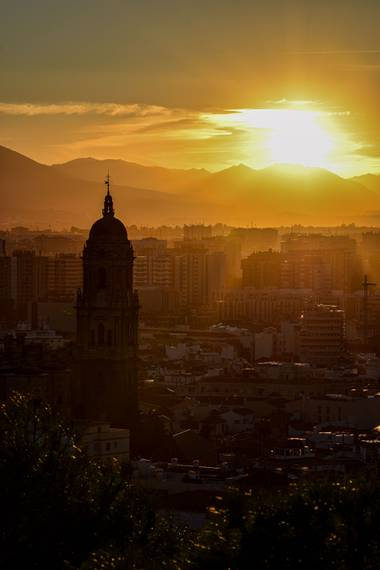 Alech.mcf en Hamelin: Paisaje  (Málaga), #hojas #paisaje #paisajesyjardines