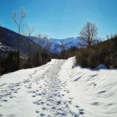 Marijohz en Hamelin: Paisaje  (Ezcaray), Al final del camino #invierno20