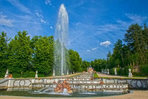 Foto Rubén  en Hamelin: Paisaje  (Real Sitio de San Ildefonso), Fuente monunental de los Jardines Reales  San Ildefonso #parquesyjardines