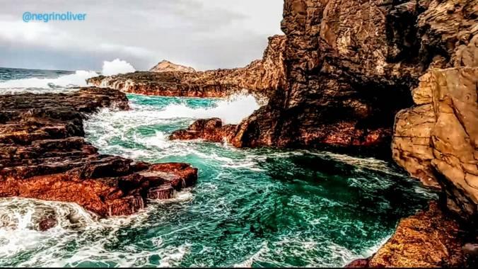 Óliver📷 en Hamelin: Paisaje, El poder del océano, está en cada una de sus olas. 🌊🌬
