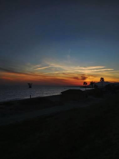 Chrisnoa19 en Hamelin: Paisaje  (Marbella), Atardecer #Marbella #andalucia #paisaje #playa #atardecer
