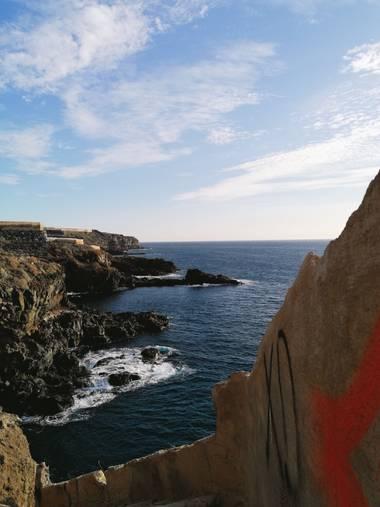 Mvchc0915 en Hamelin: Paisaje  (Guía de Isora), #beachlife #sunset #tenerife #spain #landscape #view #southside #wave #surf #nikon_photographer #nikon #bea...