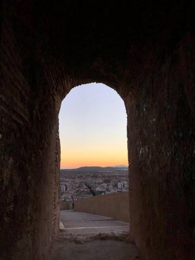 Eliza.loaizac en Hamelin: Paisaje  (Alacant), #castillosantabarbara #alicante