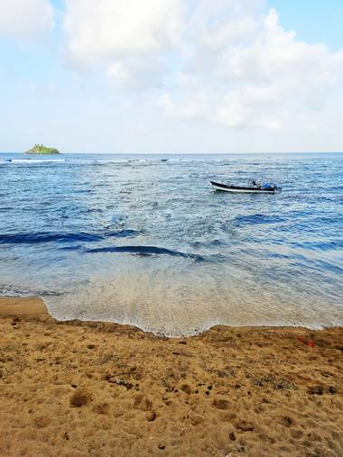 Bastian 420  en Hamelin: Paisaje, In the beach Capurgana Colombia