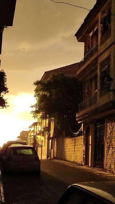 Isabeluchii 🤪 en Hamelin: Paisaje, Lloviendo 🌦️