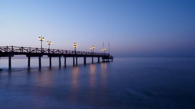 Nataliadiazgallego en Hamelin: Paisaje  (Marbella), Hora azul antes de amanecer 🌅❤️ @hamelin