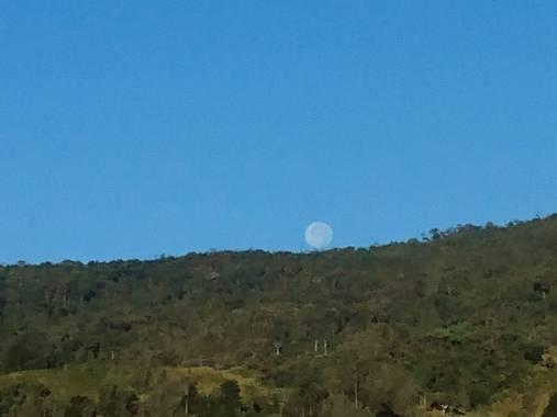 will1271 en Hamelin: Paisaje  (La Calera), La luna en la mañana