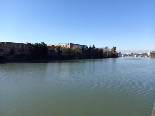 Enrique71as en Hamelin: Paisaje, Rio Guadalquivir a su paso por Sevilla