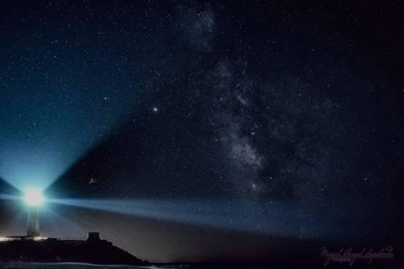 Miguel A. Sepúlveda en Hamelin: Fotografía nocturna de larga exposición (Vía Láctea) - Proyecto  (Tarifa)