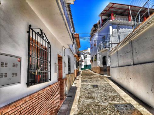 christian Martin en Hamelin: Pueblos de la Axarquia  - Proyecto  (Vélez-Málaga)