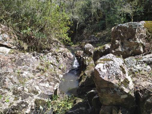Quebrada Bonita en Hamelin: Quebrada Bonita, Rocha, Uruguay - Proyecto  (Rocha)