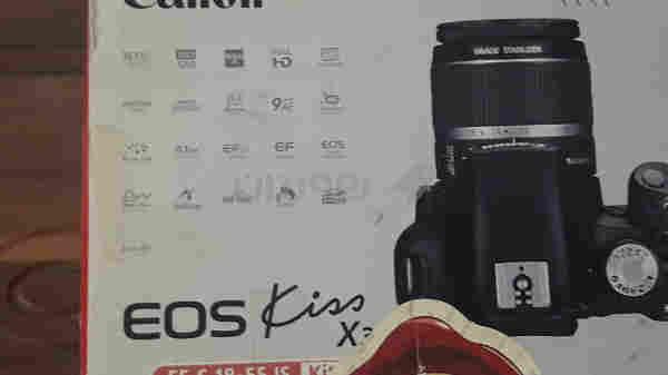 Camerai CANON EOS kiaa X3
