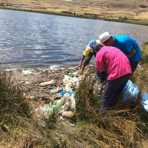 CLEANING OF LAKES