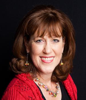The author Jenny Ahlstrom