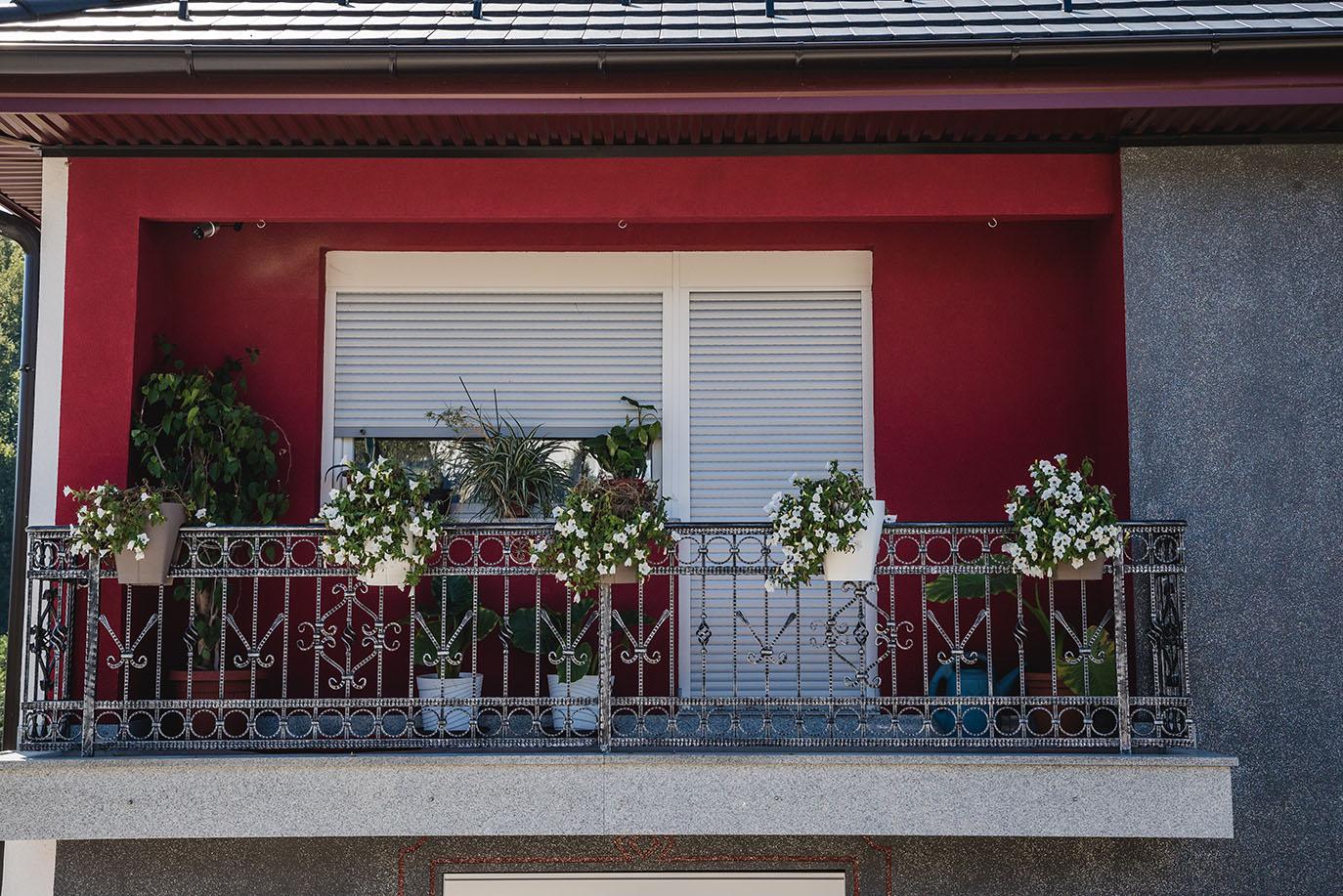 Balkonzaun