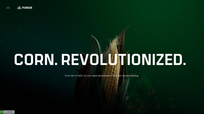 Pioneer—Corn Revolutionized 網站