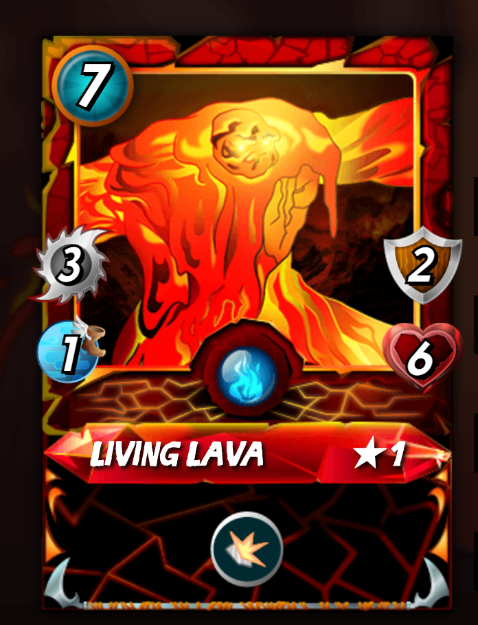LIVING LAVA
