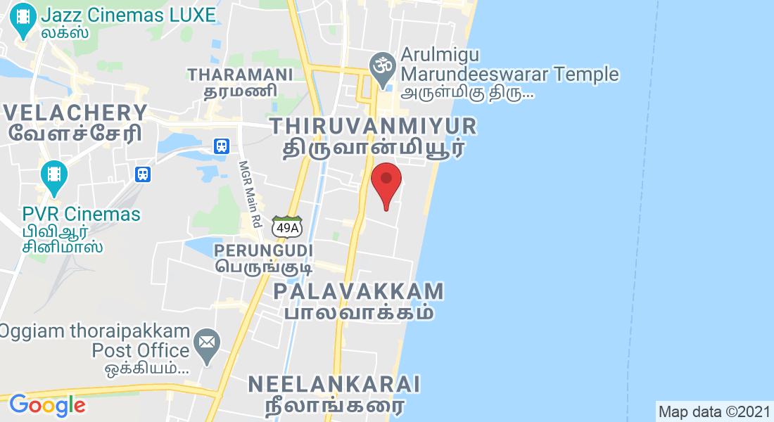 5th Cross Street, Lakshman Perumal Nagar, Kottivakkam, Valmiki Nagar, Kalyani Nagar, Chennai, Tamil Nadu 600041, India