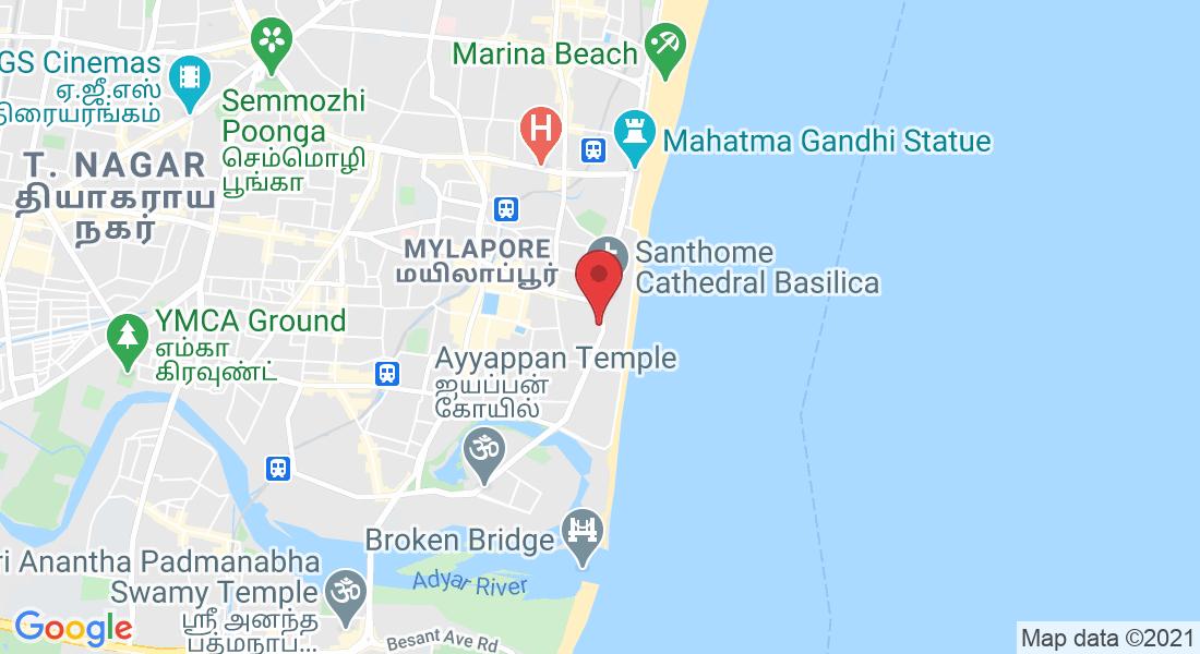 31, Santhome High Rd, Basha Garden, Mylapore, Chennai, Tamil Nadu 600004, India