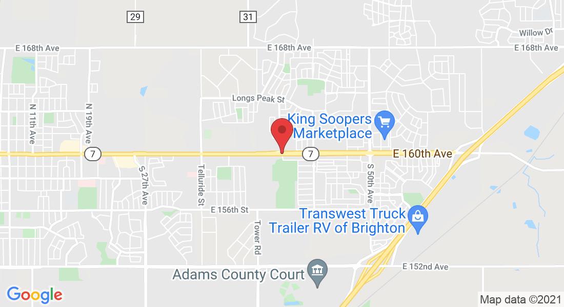 E 160th Ave & N 42nd Ave, Brighton, CO 80601, USA